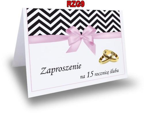 Zaproszenie Na 254050 Rocznicę ślubu Rzg9 Ol Druk